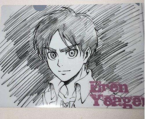 進撃の巨人 浅野恭司 原画展 クリアファイル エレン season2の商品画像