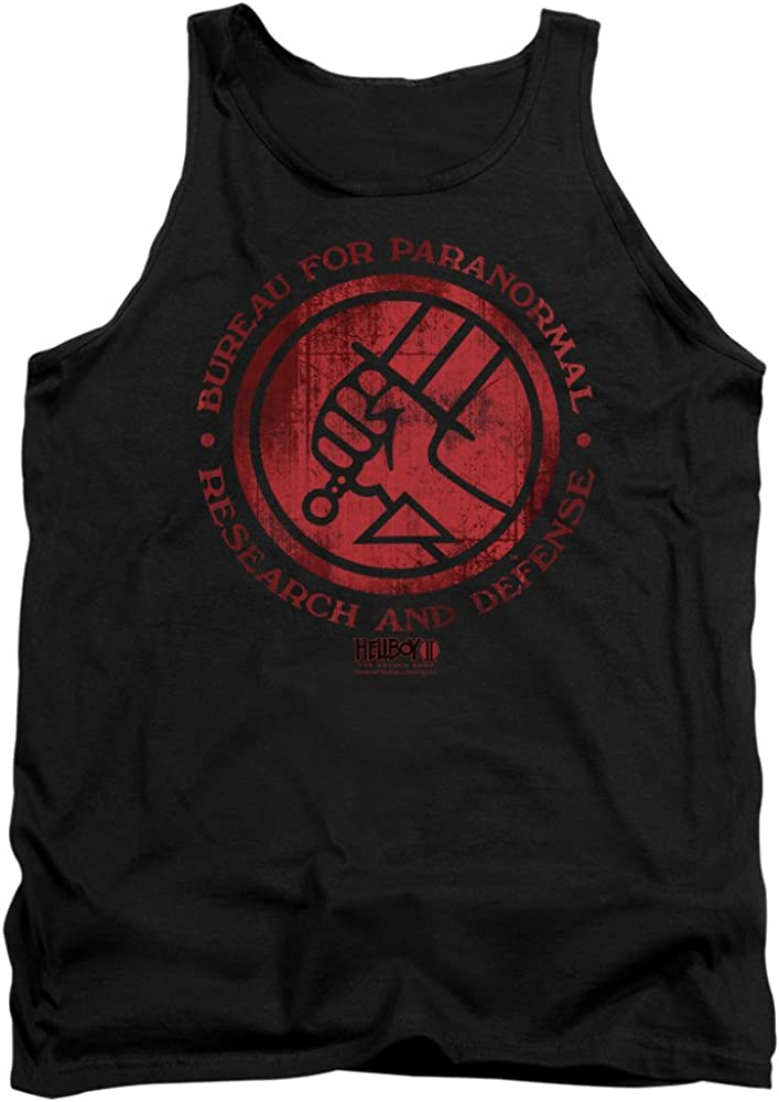 Hellboy II Movie BPRD LOGO Licensed Adult T-Shirt All Sizes