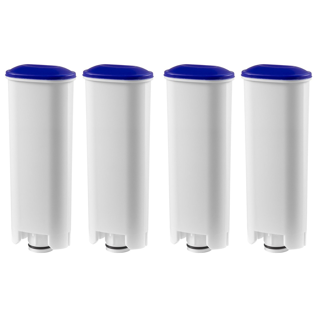 4x Water Filter Cartridges (pluggable) for DeLonghi coffee machines