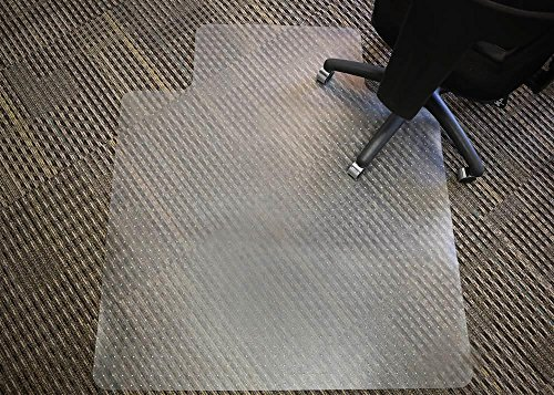 cts PVC Chair Mat for Medium Pile Carpet, 45