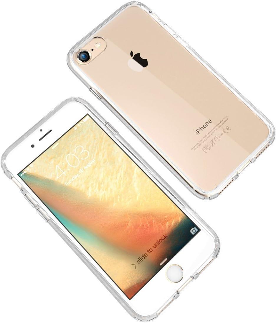 7 Pack de 3 Coques Souples transparetes et R/ésistantes avec Impression Fantaisie iPhone 8 4 Novago Compatible avec iPhone 7 Multicolore #22