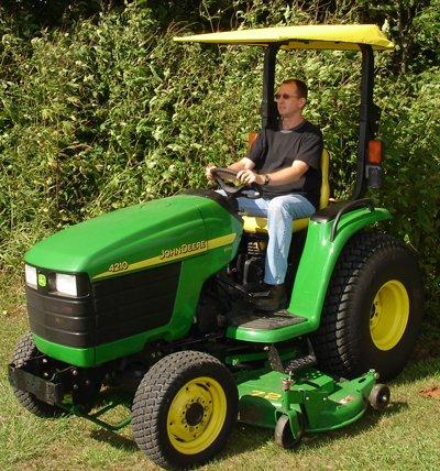 Original Tractor Cab Sunshade Fits John Deere Compact Uti...