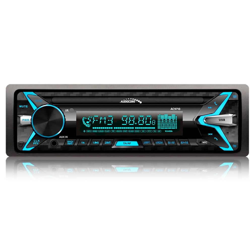 Audiocore AC9710 B Car Radio MP3/WMA/USB/RDS/SD KFZ AUX IN Bluetooth Hands-Free Equipment