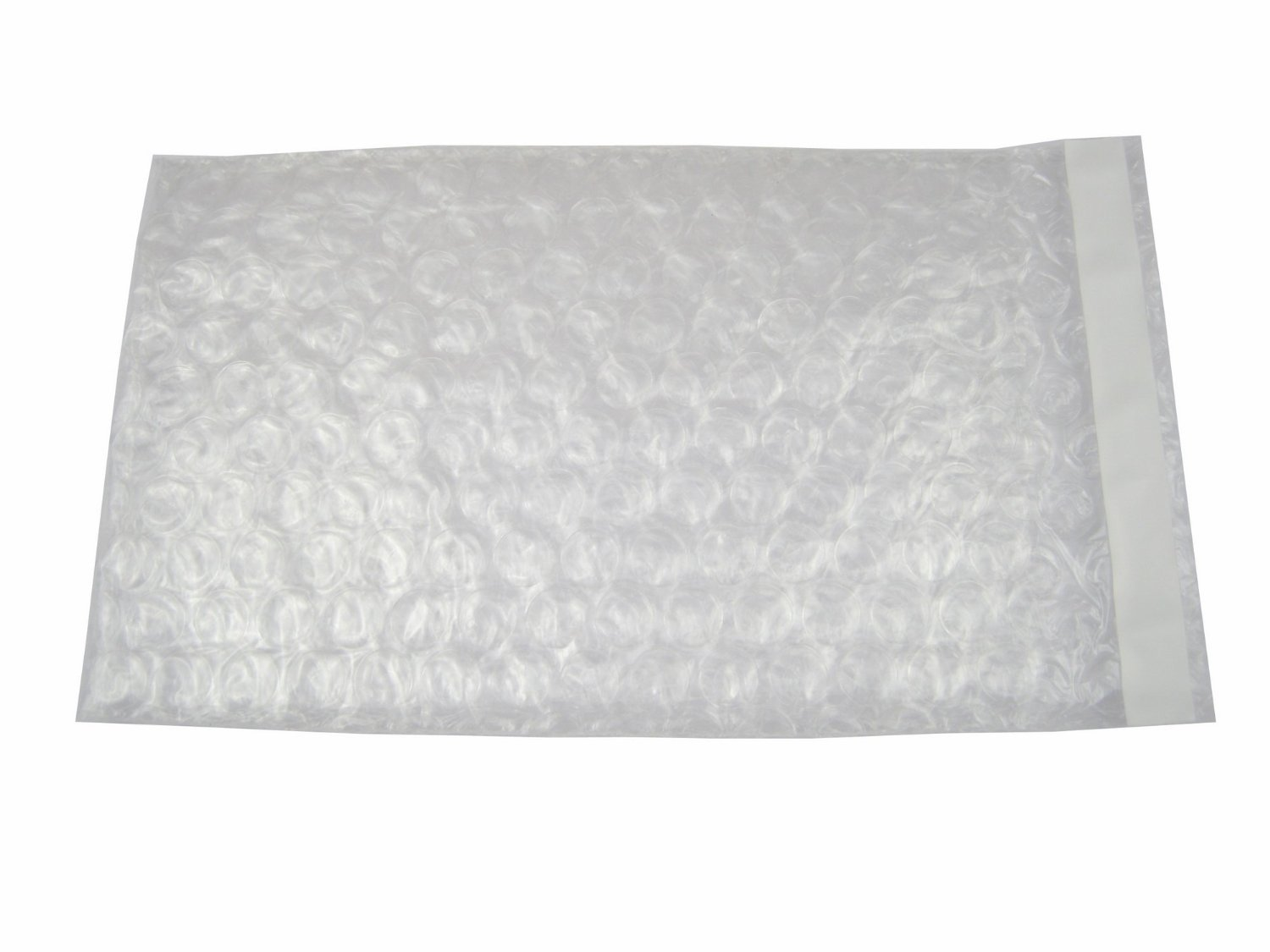 600 Pcs 8X15.5 SELF-SEAL CLEAR BUBBLE OUT POUCHES BAGS 8'' X 15.5'' 1'' LIP and Tape Seal BUBBLE WRAP