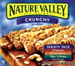 Nature Valley Crunchy Granola Bars, Variety Pack of Cinnamon, Oats 'n Honey, and Peanut Butter, 12-Count Boxes (Pack of 6)