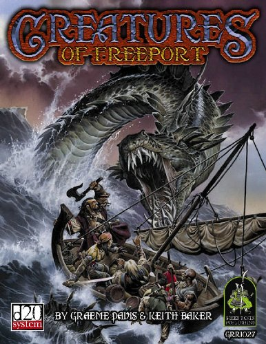 Creatures of Freeport (d20 3.0 Fantasy - Freeport Outlet Stores