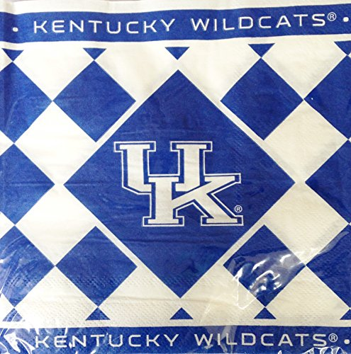 University of Kentucky UK Wildcats 2-ply Large 6 1/2