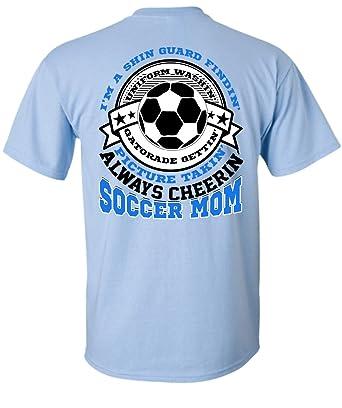 Tee Bon Always Cheering Soccer Mom T Shirt, I Love Soccer T Shirt Unisex (