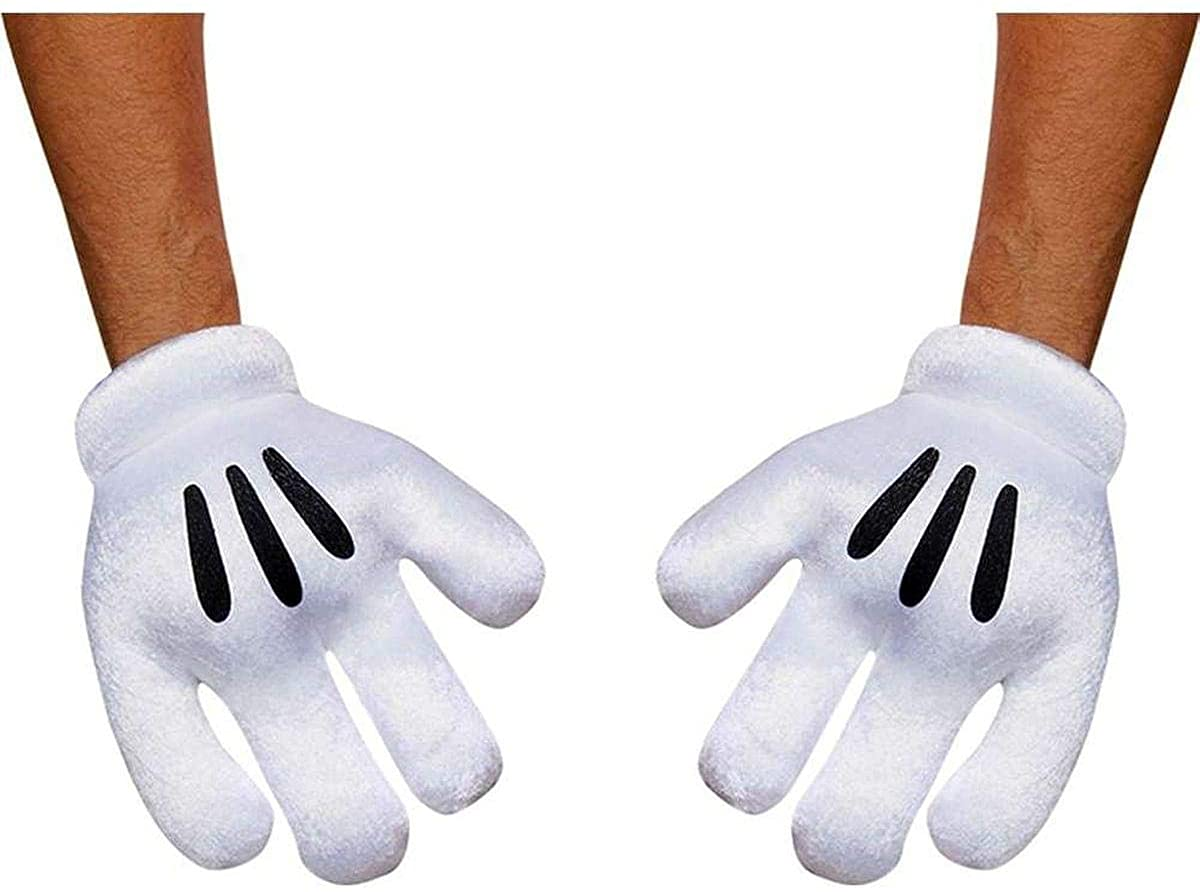 Disguise Inc - Mickey Mouse Adult Gloves