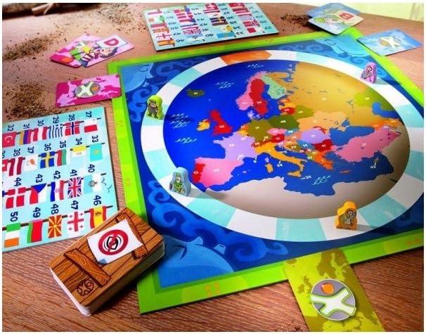 Haba - Terra Kids Los países europeos (en Francés): Amazon.es: Juguetes y juegos
