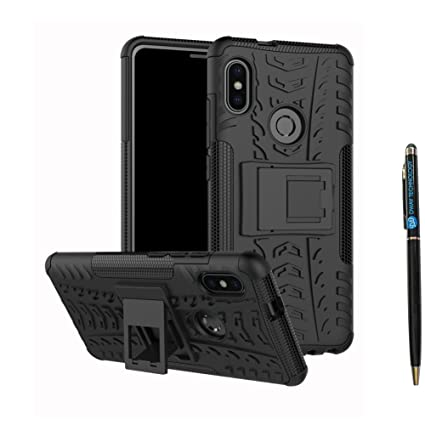Redmi Note 5 Pro Cover Hybrid DWaybox Rugged Heavy Duty Armor Hard Back Cover Case with Kickstand for Xiaomi Redmi Note 5 Pro/Redmi Note 5 5.99 Inch ...