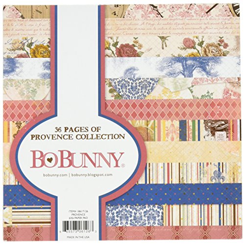 Bo Bunny Provence BoBunny Single-Sided Paper Pad 6