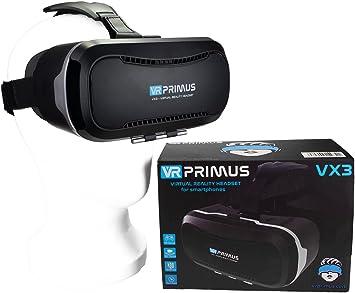 Gafas VR VR-PRIMUS VX3 para Smartphones. Compatible con p ej ...