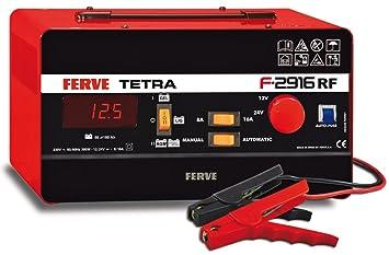 Ferve F-2916 Tetra Rf Cargador 12-24V 8-16A: Amazon.es ...