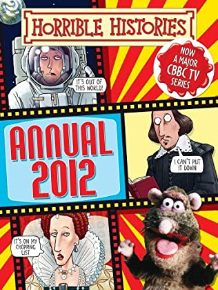 book cover of Horrible Histories Annual 2012