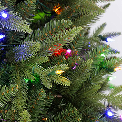 Home Heritage Alaska 6' - 7.5' Grow & Stow Dual Colored Light Christmas Tree by Home Heritage (Image #4)