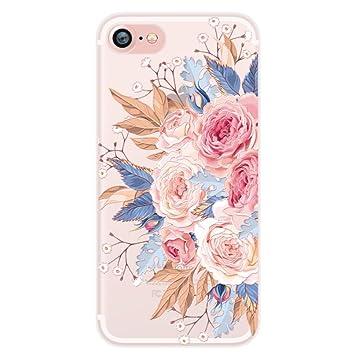 coque fleurie iphone 8 plus