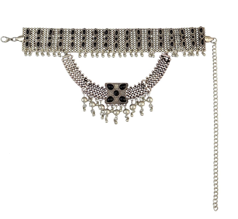 Tribal Tassel Pendant Statement Necklace Image 3