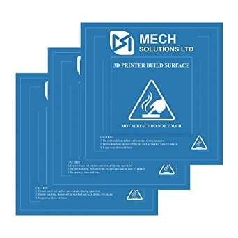Awesome Mech Solutions Ltd 3D Printer Build Surface With 3M Sticker 3D Printer Heated  Bed Sheet For