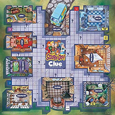 CLUE: Scooby Doo! Board Game | Official Scooby-Doo! Merchandise Based on The Popular Scooby-Doo Cartoon | Classic Clue Game Featuring Scooby-Doo Characters | Gather The Gang and Solve The Mystery!: Toys & Games