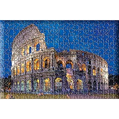 Jigsaw Puzzles 1000 Pieces for Adults, City Landmark, Tourist Spots, 1000 Piece Large Jigsaw Puzzle Set, Educational Toys, Gift for Kids Child Friend, 27.56 x 19.69inch(Roman Colosseum): Toys & Games
