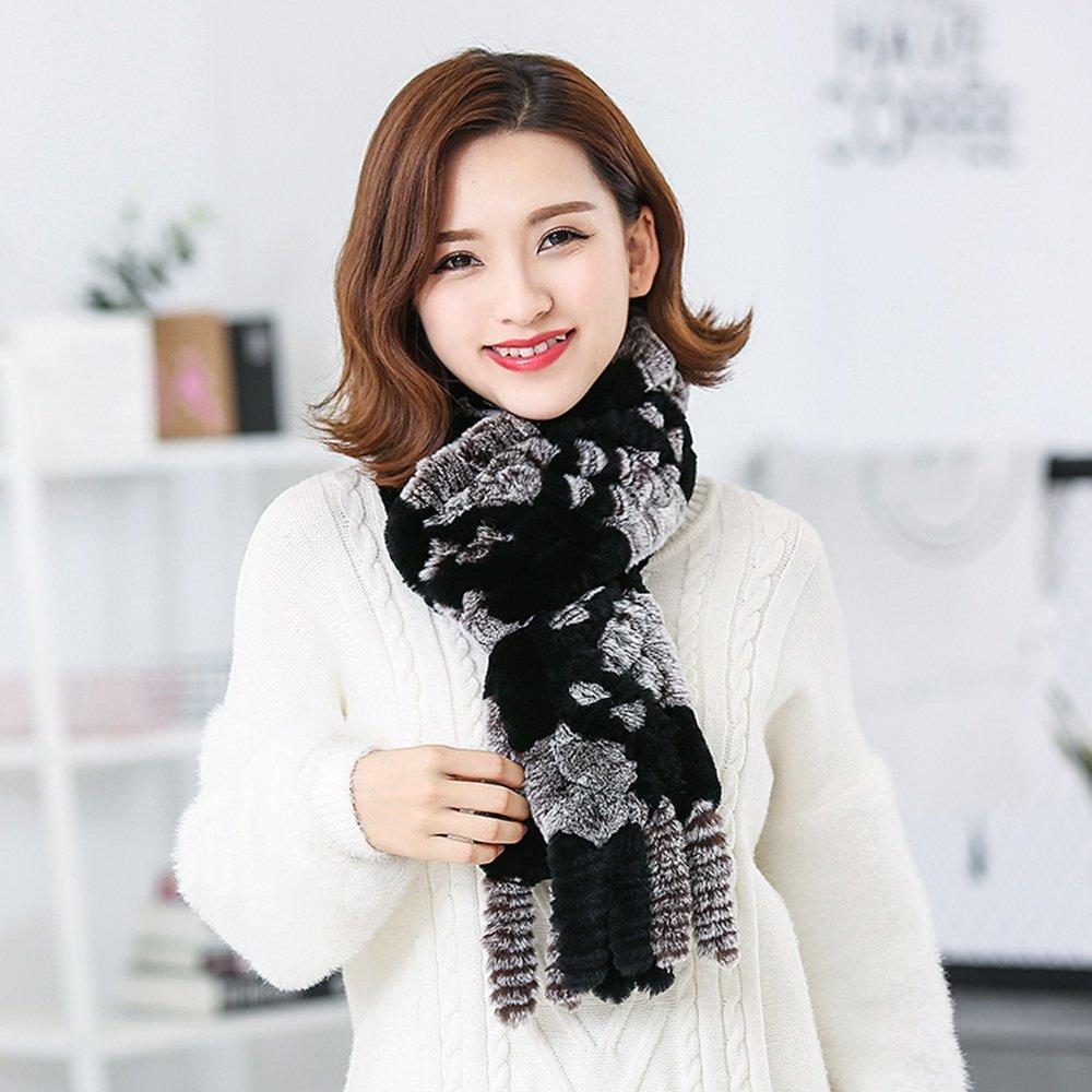 Bufanda HAIZHEN Elegante de moda Collar Mujer Invierno engrosamiento Ampliación Calor al aire libre ...