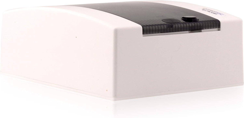 Caja de fusibles montada en superficie IP40 Carcasa del distribuidor 1 fila de hasta 12 m/ódulos Puerta blanca para la instalaci/ón de la habitaci/ón seca en la casa
