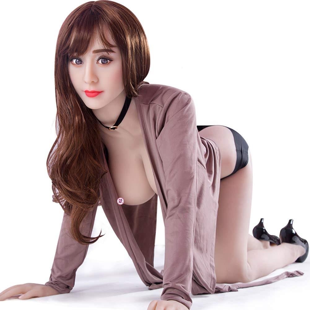 ンインフレータブル人形男性シニア女性半固体シームレスインフレータブル女膣肛門大人のおもちゃ   B07NRMN64L