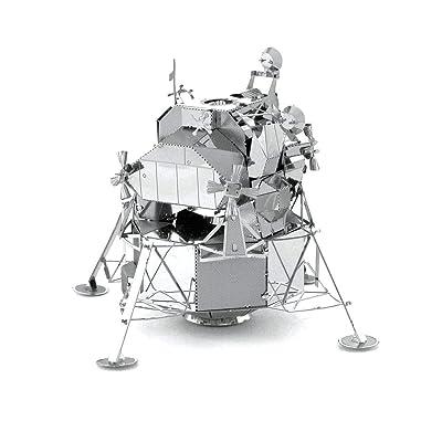 Metal Earth Fascinations Apollo Lunar Module 3D Metal Model Kit: Toys & Games