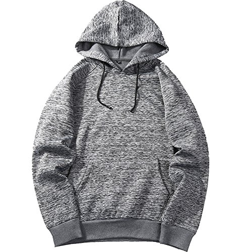 MANTORS Men's Soft Hoodie Sweatshirt Warm Sport Pullover Hooded