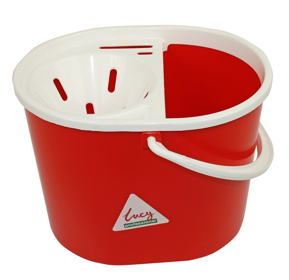 Lucy Oval Mop Bucket Red 15 Litre SYR CL056-R