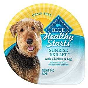 Blue Buffalo BLUE Healthy Starts Sunrise Skillet For Dogs With Chicken & Egg 3 oz, Pack of 12