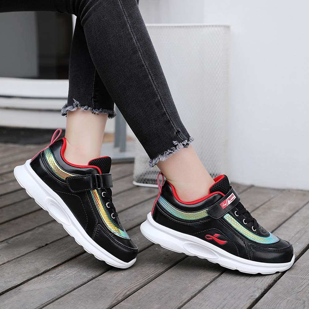 Aikuass USB Chargable LED Light Up Fashion Flashing Sneaker Shoes for Boys Girls Kids