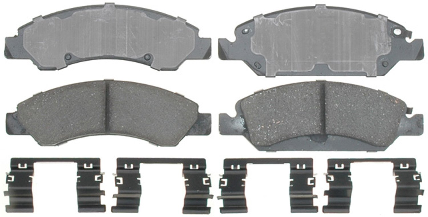 ACDelco 17D1367CH Professional Ceramic Front Disc Brake Pad Set by ACDelco