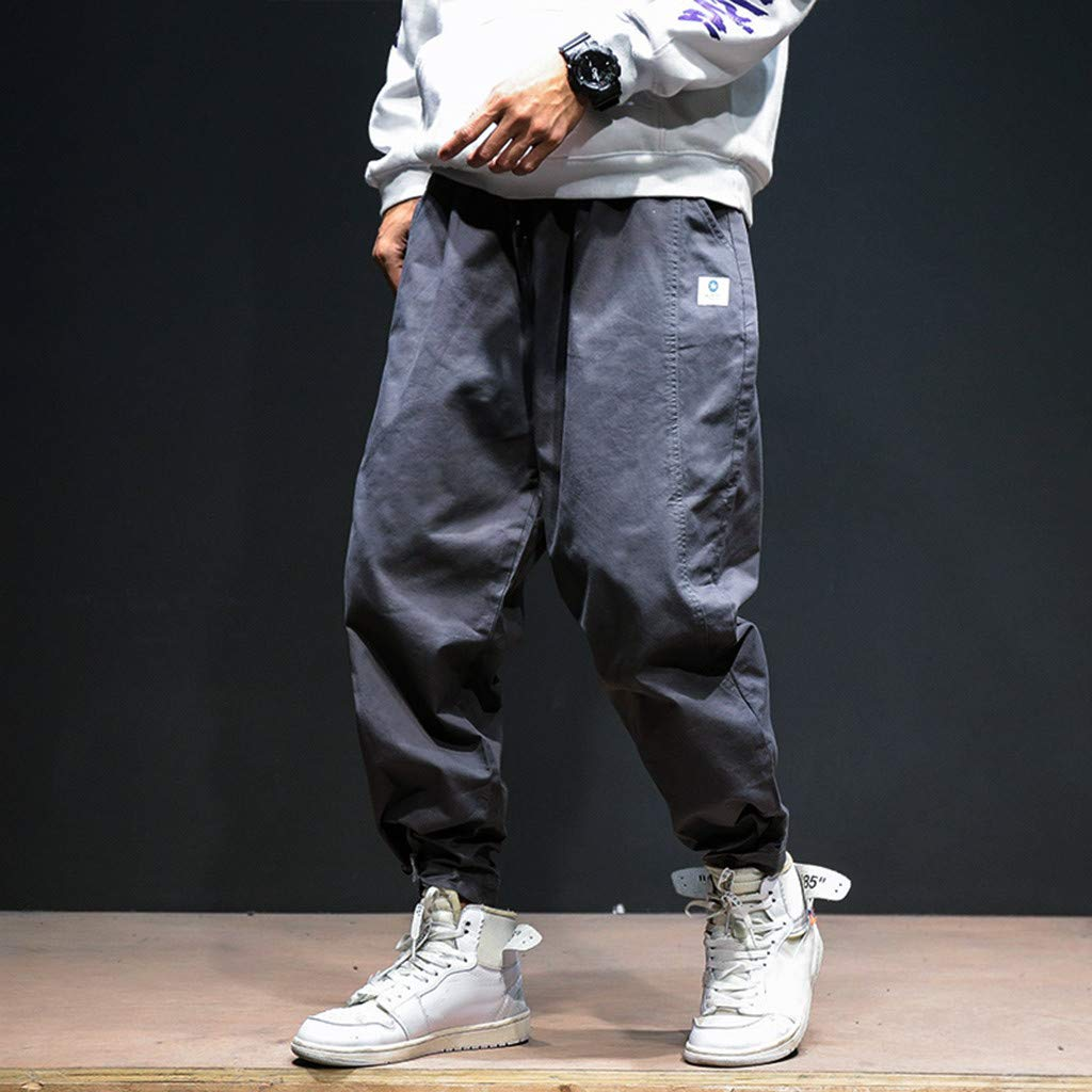 Ninth Pants Stoota 2019 Newest Mens Autumn Winter Casual Fashion Slack Overalls Small Feet Trousers