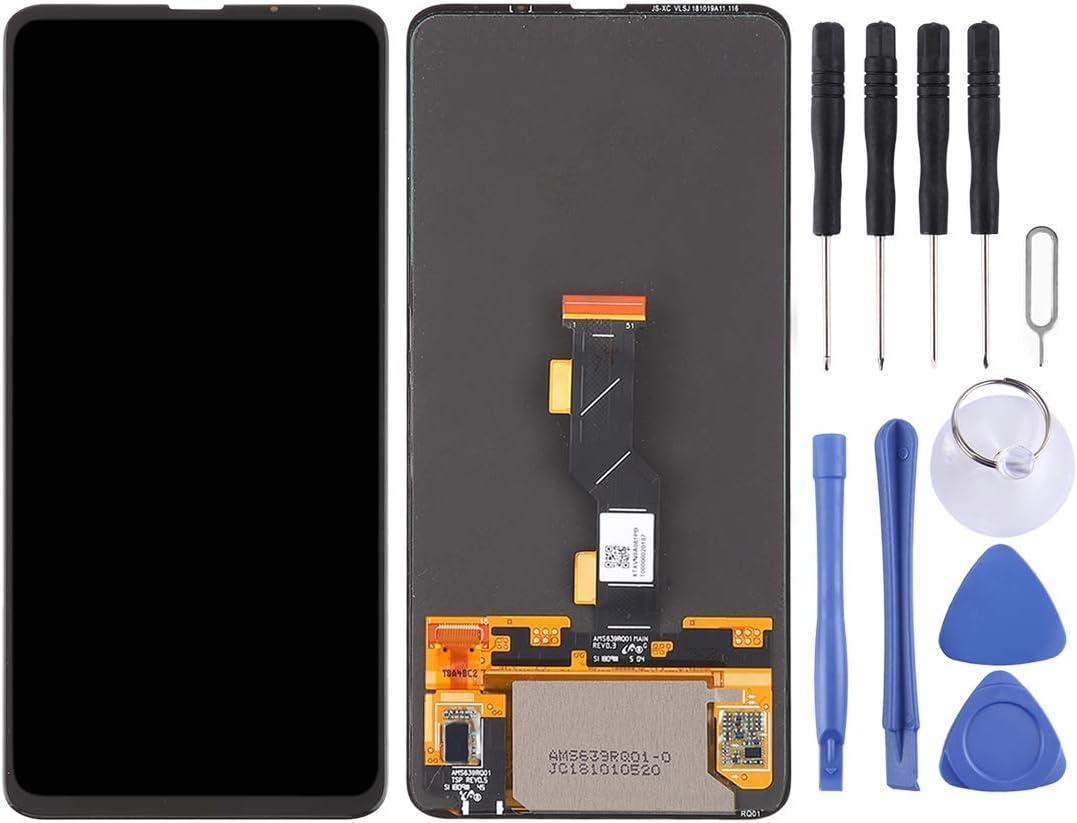 YANGJIAN LCD Screen and Digitizer Full Assembly for Xiaomi Mi Mix 3 Black