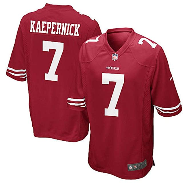 purchase cheap bc070 38943 Amazon.com: Nike San Francisco 49ers Colin Kaepernick 7 ...