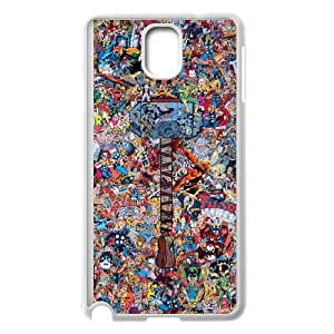 Samsung Galaxy Note 3 Cell Phone Case White Avengers Silicone Cell Phone Cases KZA