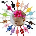 PUBAMALL diadema para bebé, cintas para niñas para recién nacidos, niños pequeños y niños (01) (20 piezas)