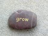 Grow Word Stone - 10 pieces - great gifts for gardeners