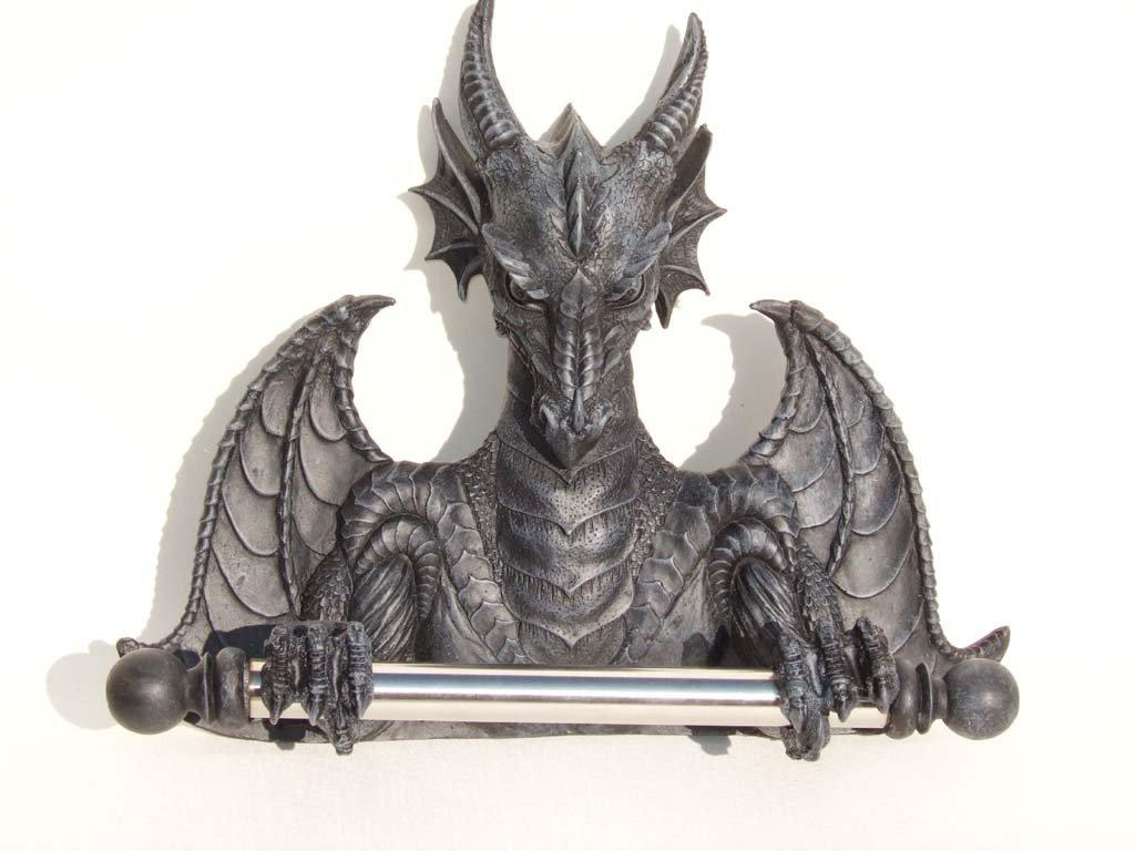 Porte-rouleau de papier toilette Dragon Golden Future