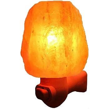 Amazon Com Litake Salt Lamp Mini Hand Himalayan Salt Lamp Cordless Crystal Salt Night Light