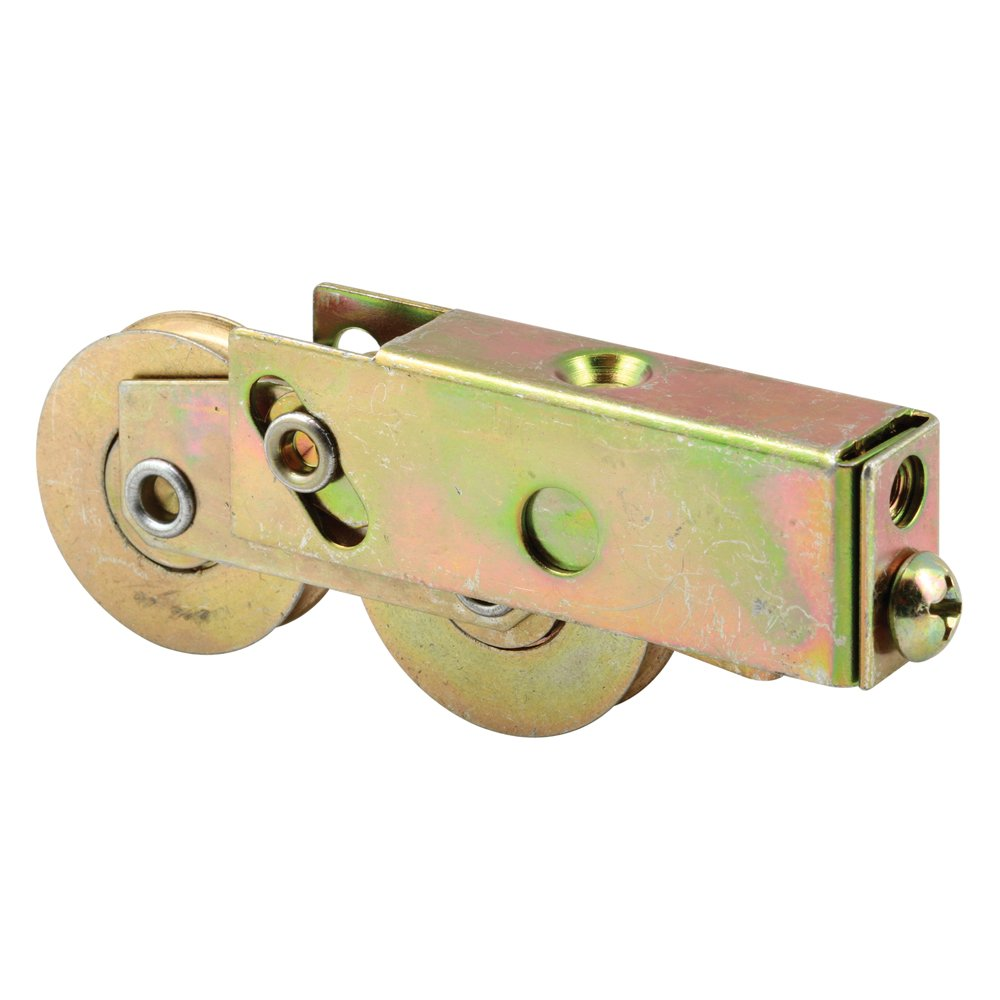 Prime Line Products D 1987 Sliding Door Tandem Roller Assembly with 1 1 2 Inch Steel Ball Bearing 1 Pack