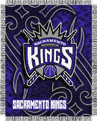 NBA Triple Woven Jacquard Throw NBA Team: Sacramento Kings Bulldogs Triple Woven Throw