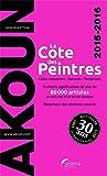 La cote des peintres 2015/2016