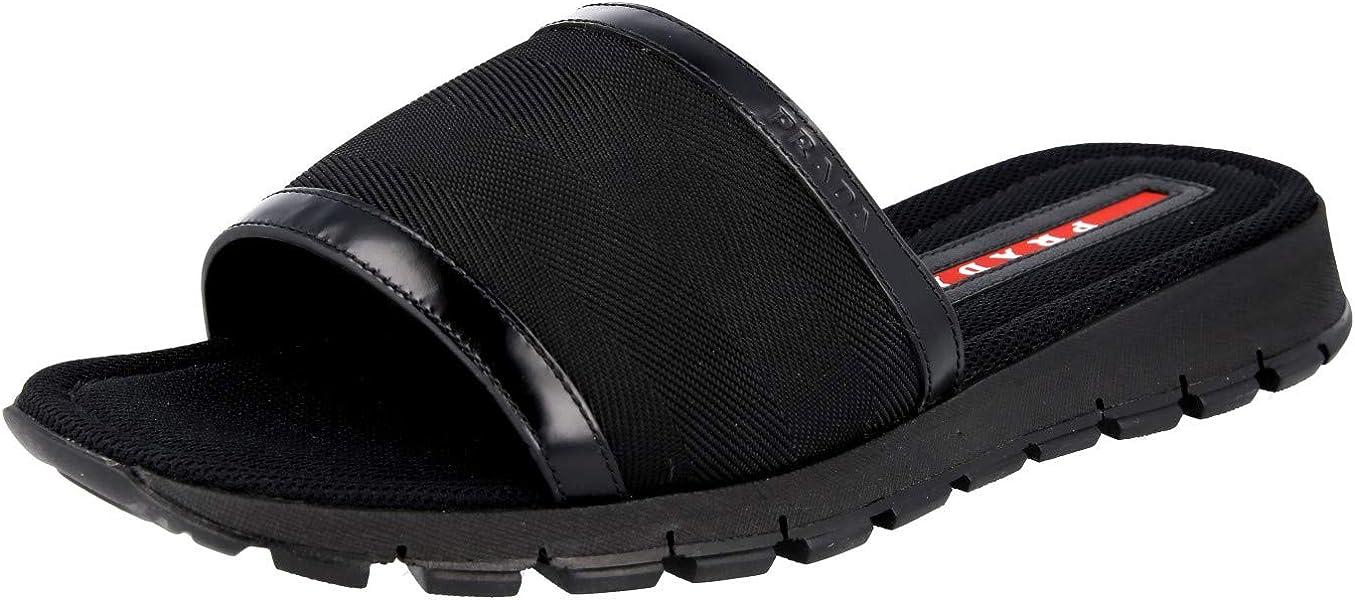 b9abca21f3a4 Men s Nastro Spazzolato Slide Sandals