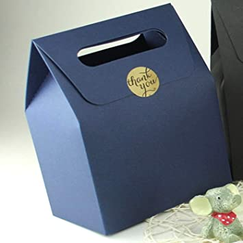 21eb14e29aa BATOP Handle Gift Paper Bag Handmade - Soap Zakka Craft Tea Cookies Cake  Candy Packaging Paper