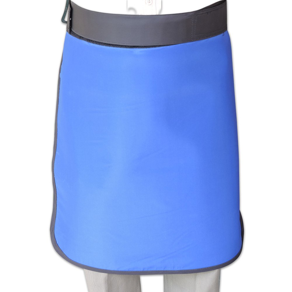 HealthGoodsIn - Lead Half Apron- 0.5mm Pb Equivalency Protection from X-ray Machines at Hospitals, Nursing Homes and Clinics, etc. | Adjustable Tape Closure for Perfect Fit