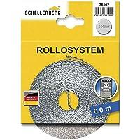 Schellenberg 36102 Cinta de persiana ancho, color gris