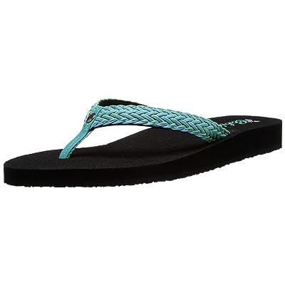 Cobian Women's Lalati Aqua Flip Flops, 7 | Sandals